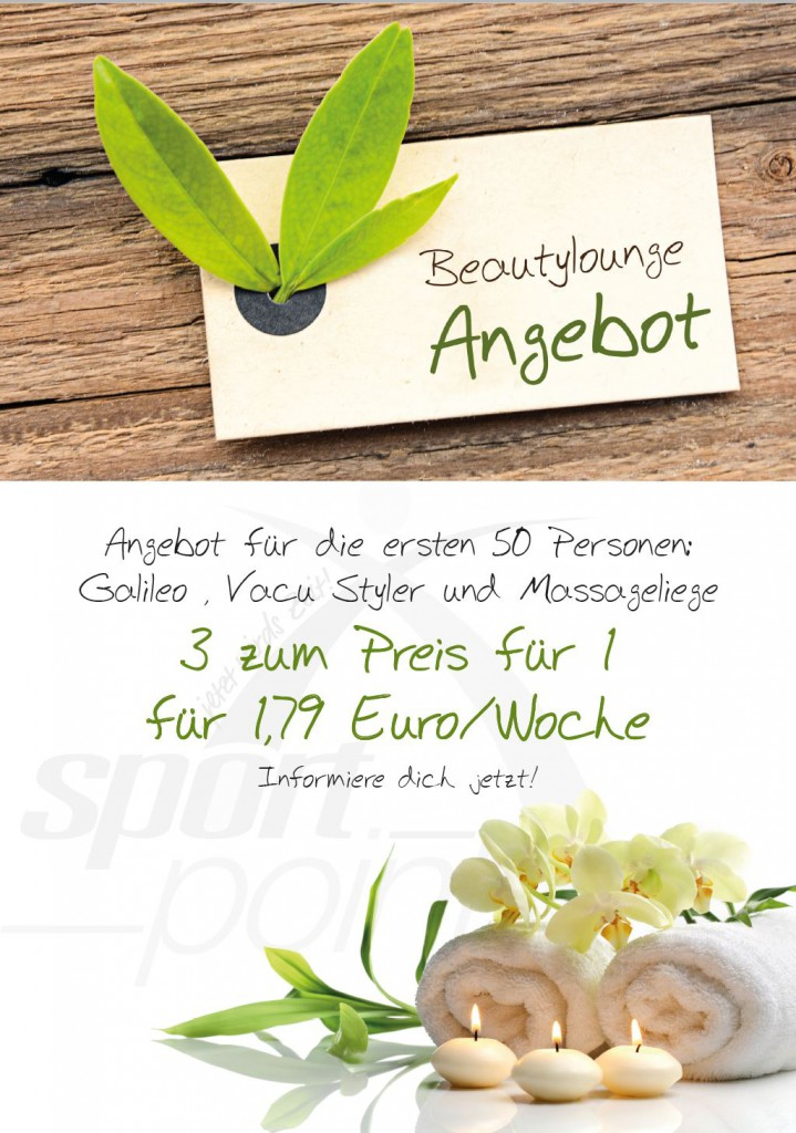 Beauty Angebot